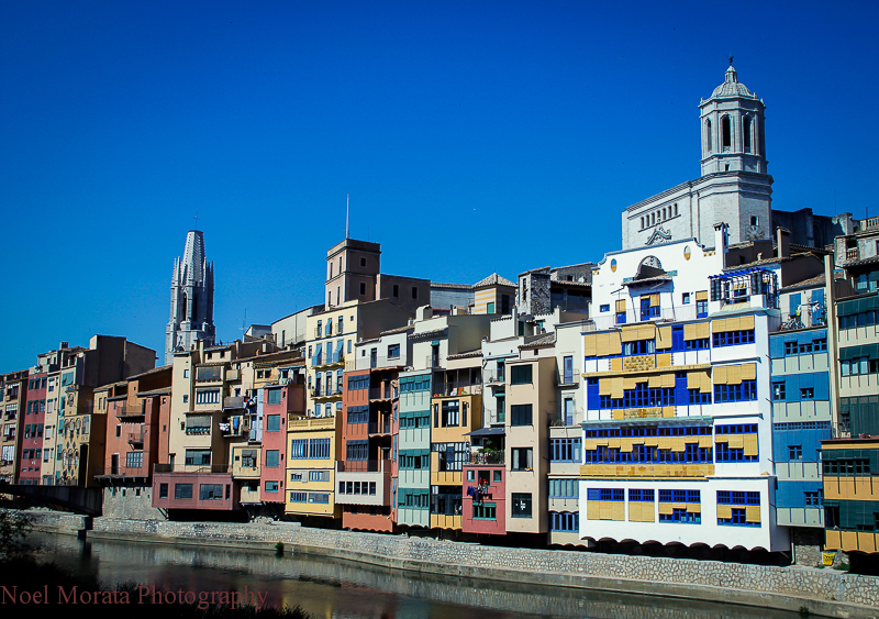 Girona river front