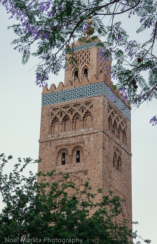 Koutoubia tower in Marrakesh