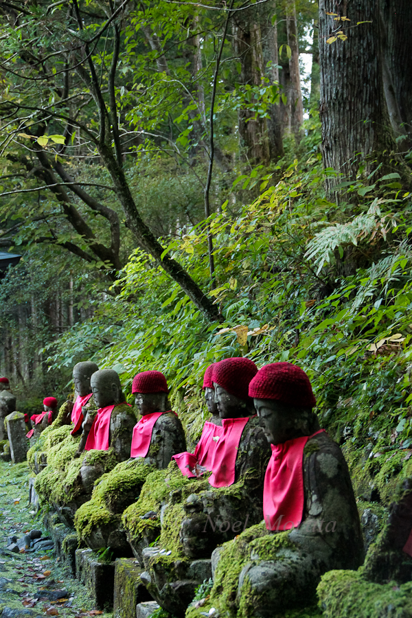 Jizo shrine in Nikko Japan
