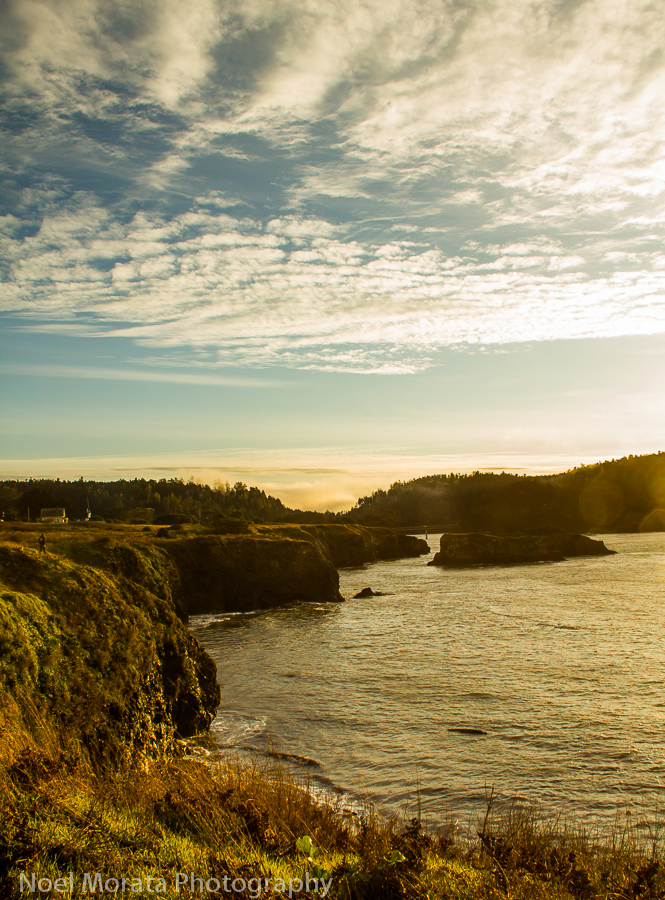 Mendocino sunrise hike