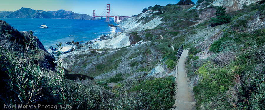 Hike to Marshall beach in San Francisco