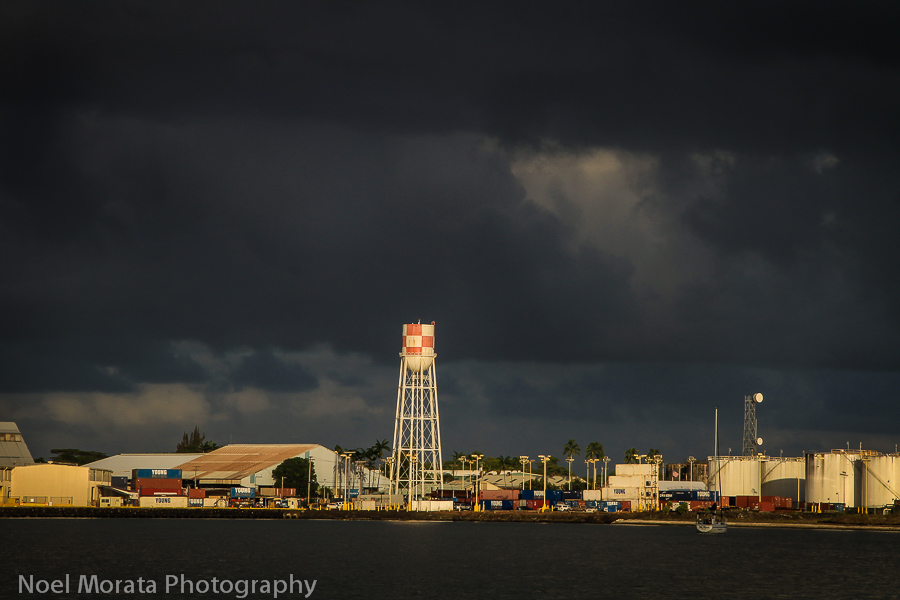 The small but busy port of Hilo