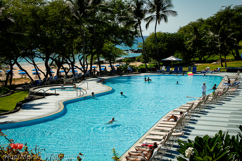 Hapuna Prince swimming pool