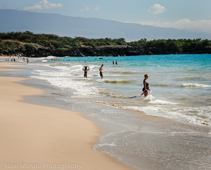 Soft sands at Hapuna Beach