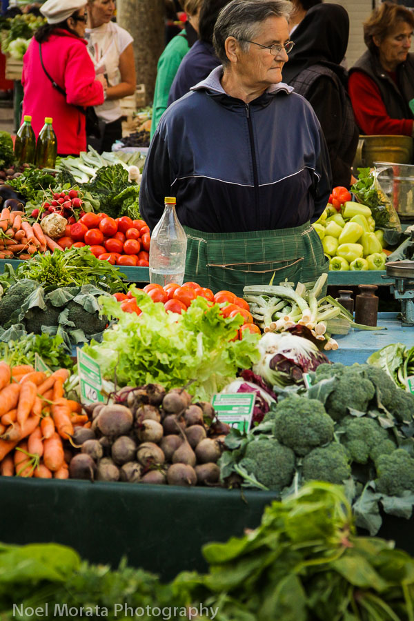 Split, Croatia farmers market - Travel Photo Mondays #38