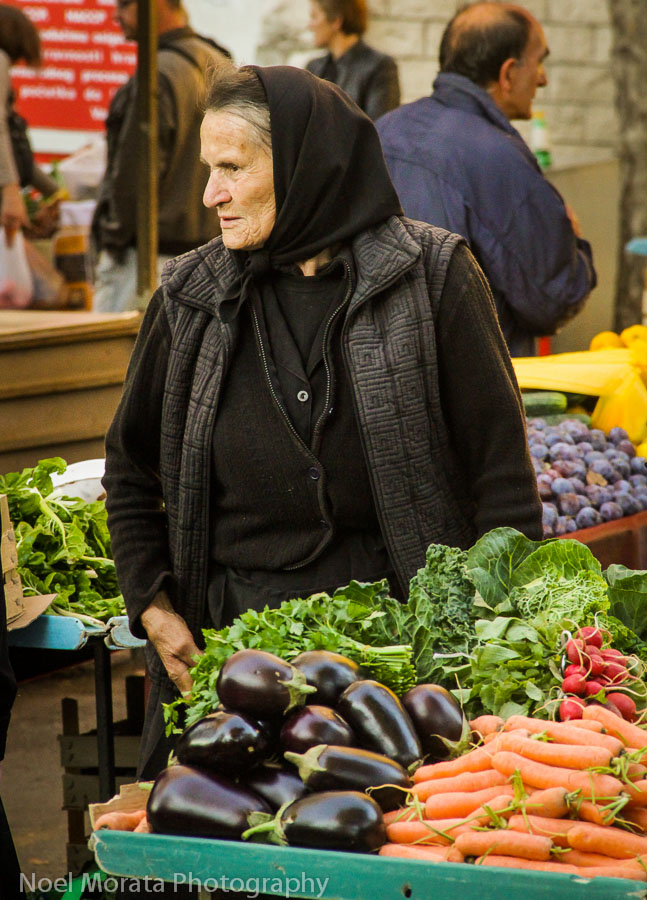 Split, Croatia farmers market . Photo courtesy Noel Morata