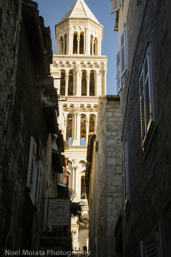 Split - a free city tour of the Diocletian Palace