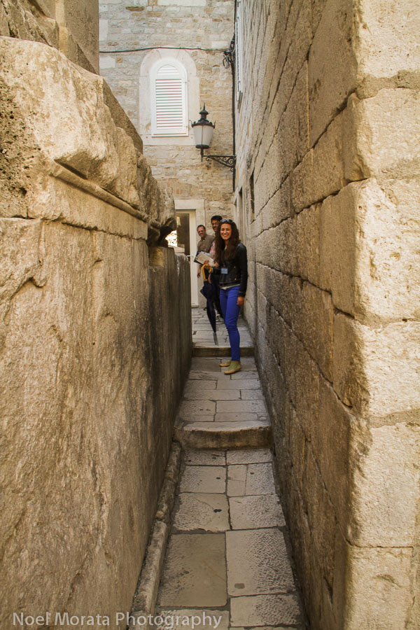 The thinnest street in Split