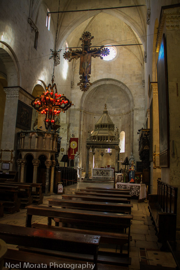 Trogir cathedral interior