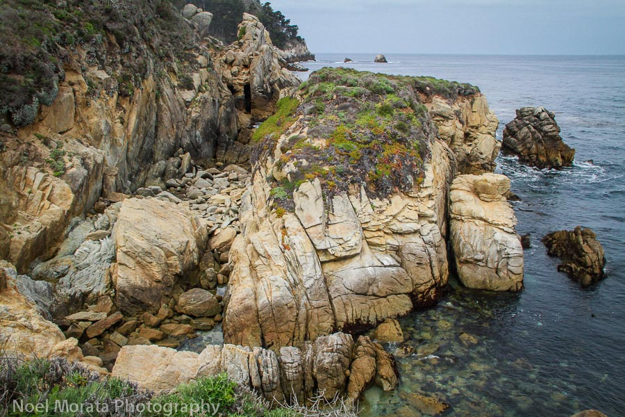 Hiking the coastal trails at Point Lobos State Reserve