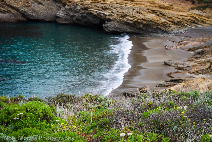 A quiet cove that used to be a whaling settlement