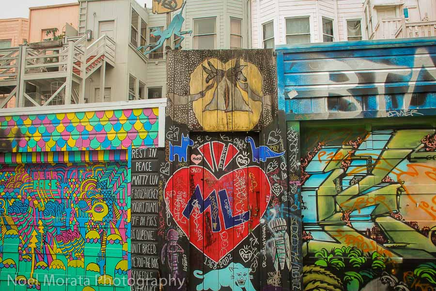 Cool Graffiti at Clarion Alley, San Francisco
