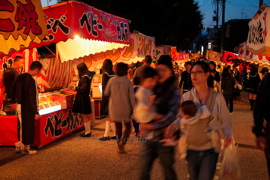 Food Festival in Takayama, Japan