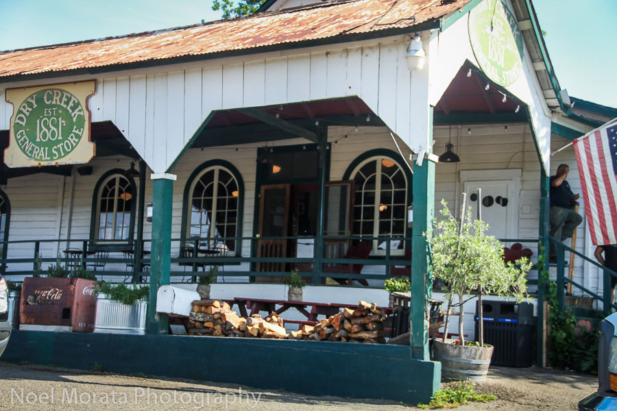 The Dry Creek general store est 1881