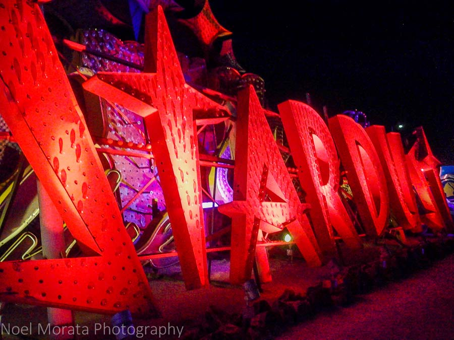 Iconic Stardust at the Neon Museum