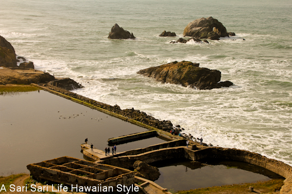 Cool places to visit in San Francisco including Lands End and Sutro Baths