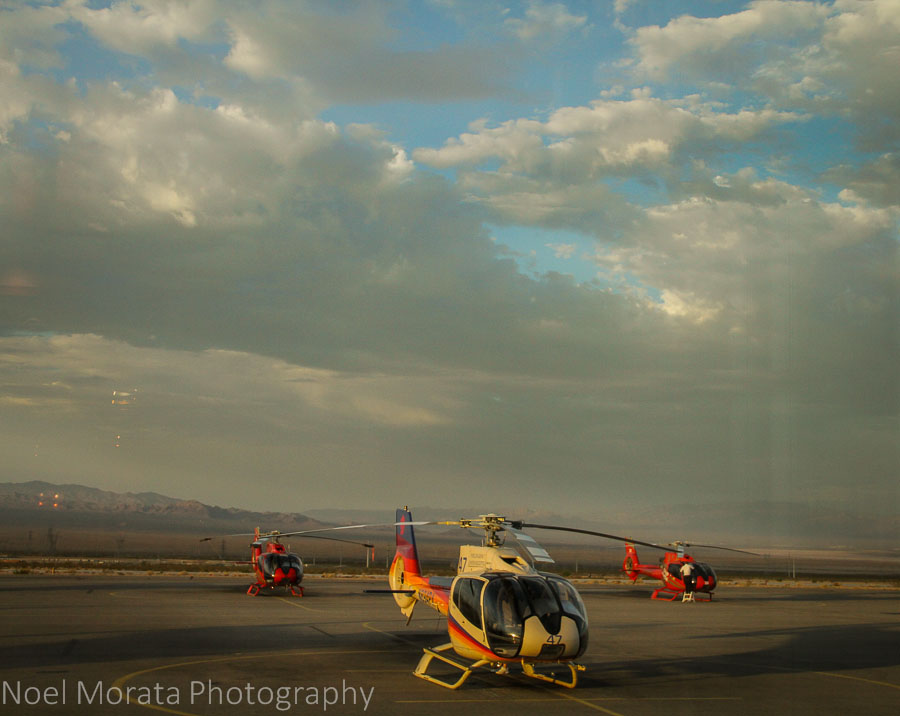 Grand Canyon Helicopter Tours terminal