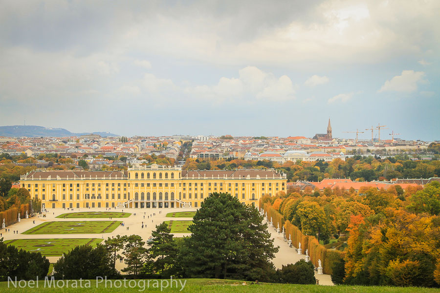 Vienna highlights: a fall visit to Schonbrun