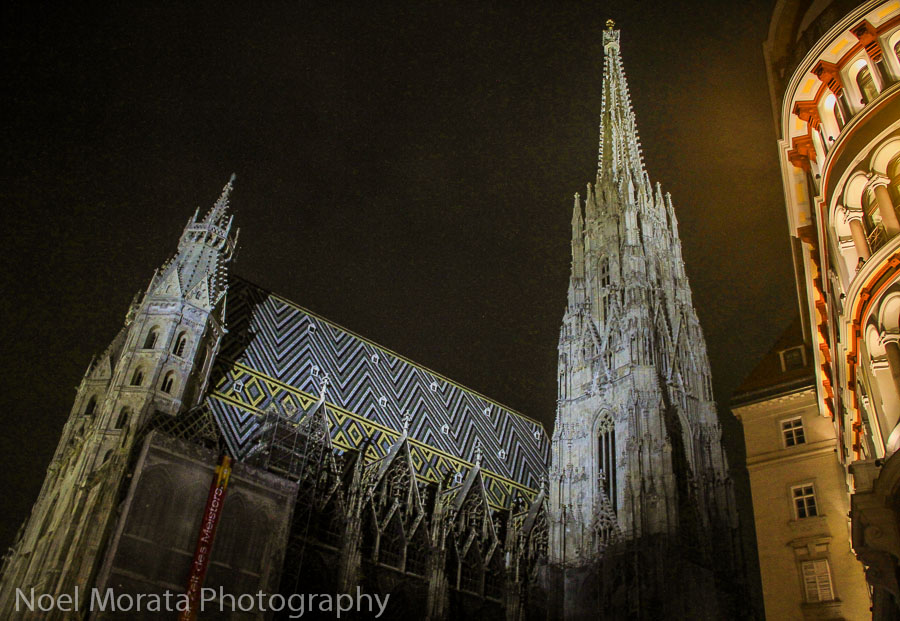 A night walking tour in Vienna - Travel Photo Mondays