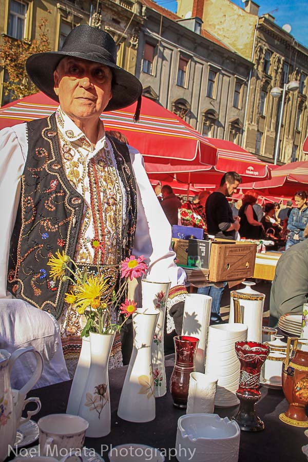 Quirky and fun vendors at the antique market