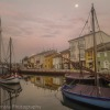 Morning light in Cesenatico, Italy