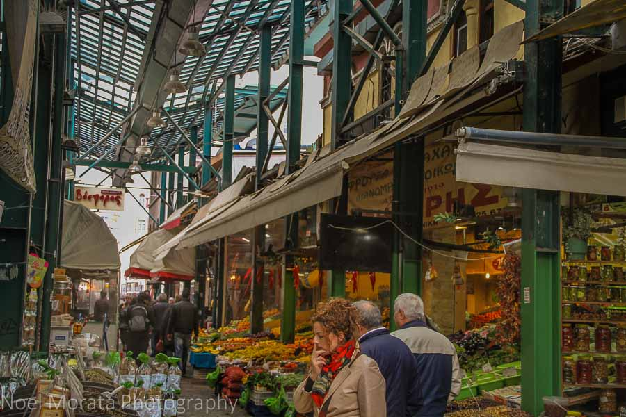Colorful markets of Thessaloniki