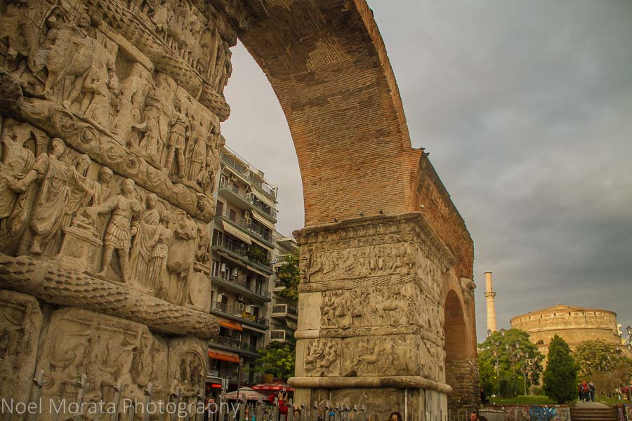 The Arch of Galerius at Thessaloniki, Greece