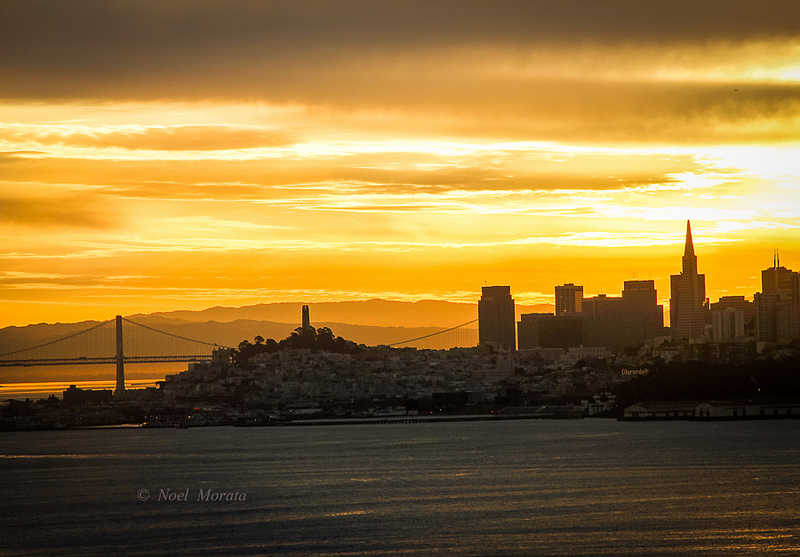 Sunrise over San Francisco - Fun and unusual activities to do in San Francisco