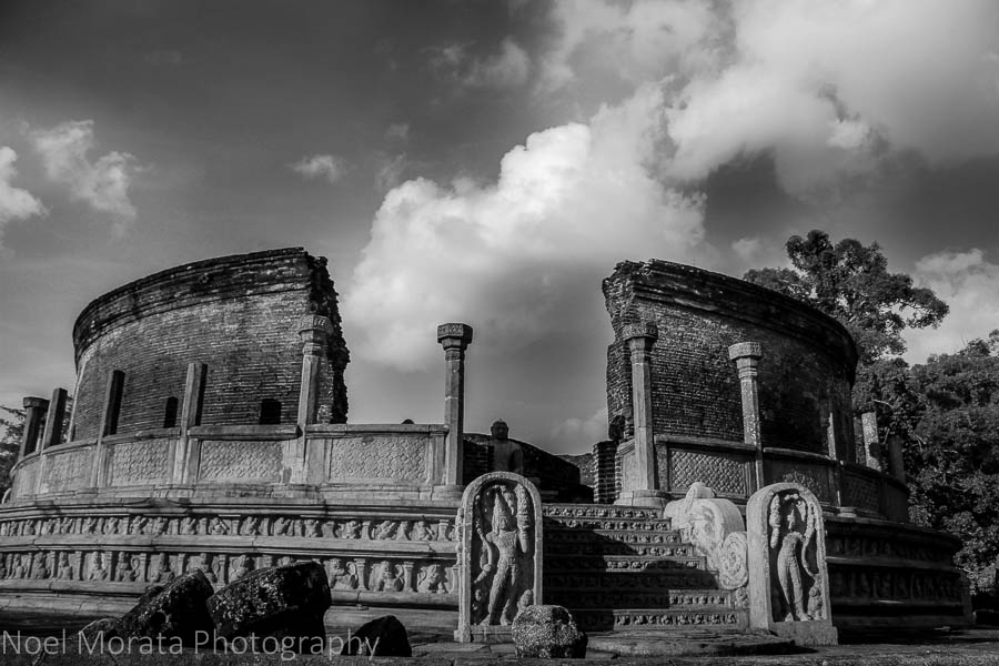 The ancient capital of Polonnaruwa in Central Sri Lanka