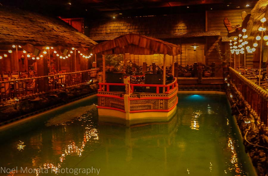 Tonga Room pool at the Fairmont Hotel