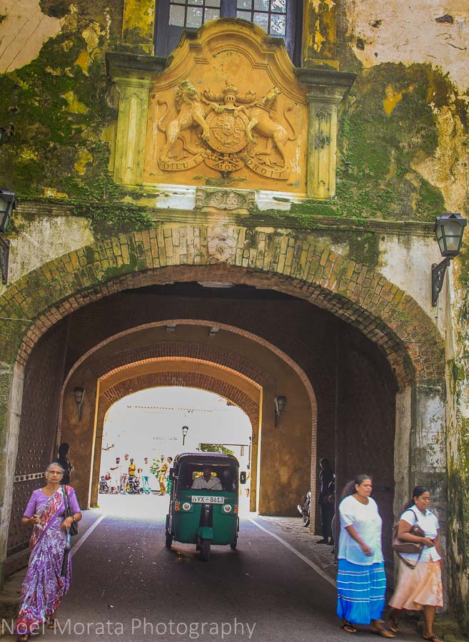Entry gate to Galle fort