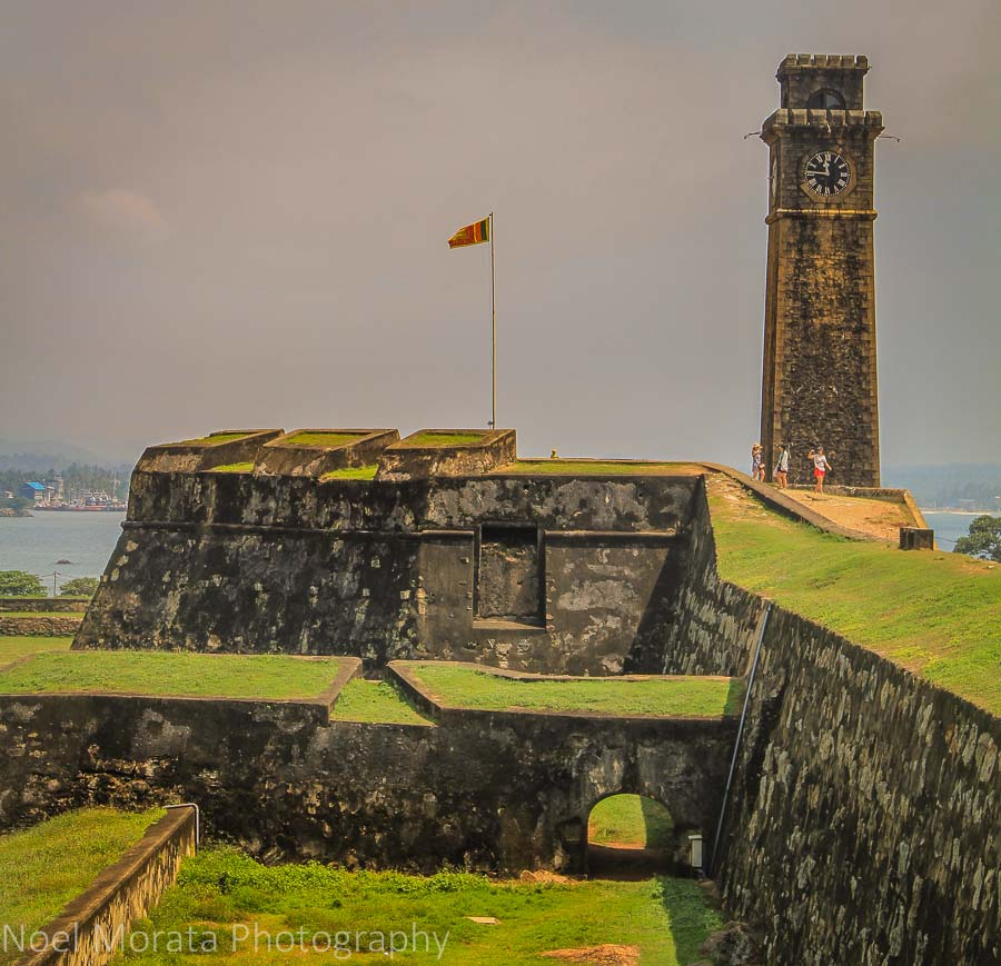 The main lookout tower and fortress of Galle