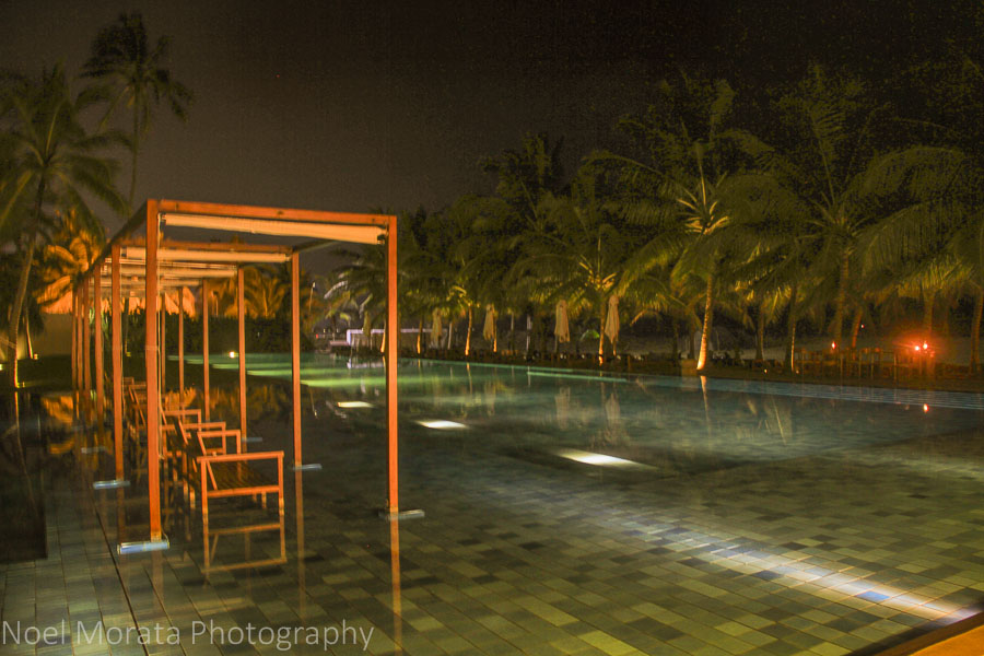 Swimming pool at Jetwing Blue in Negombo