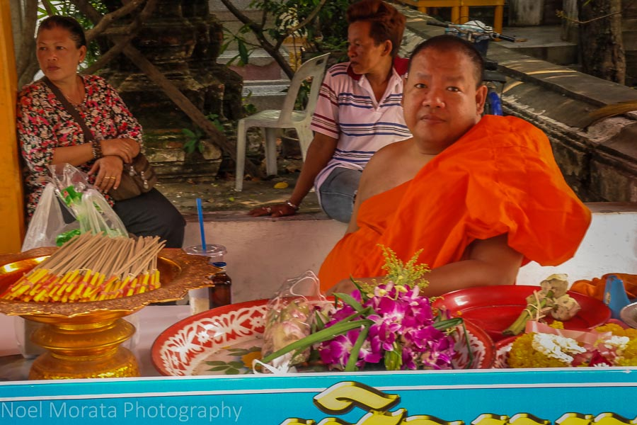 Temples and monks in Bangkok