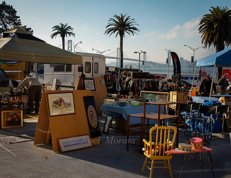 Treasure island flea market, San Francisco, California