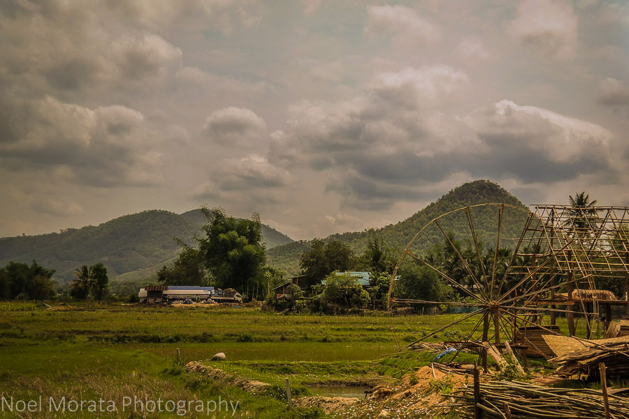 Countryside at Ta Dam village in Loei, Thailand