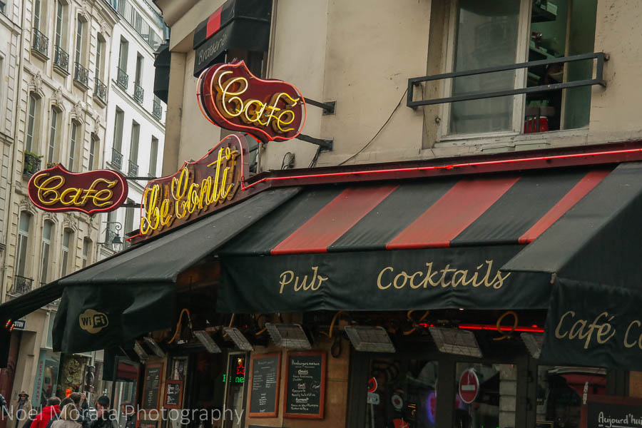 Popular cafes at St. Germain de Pres