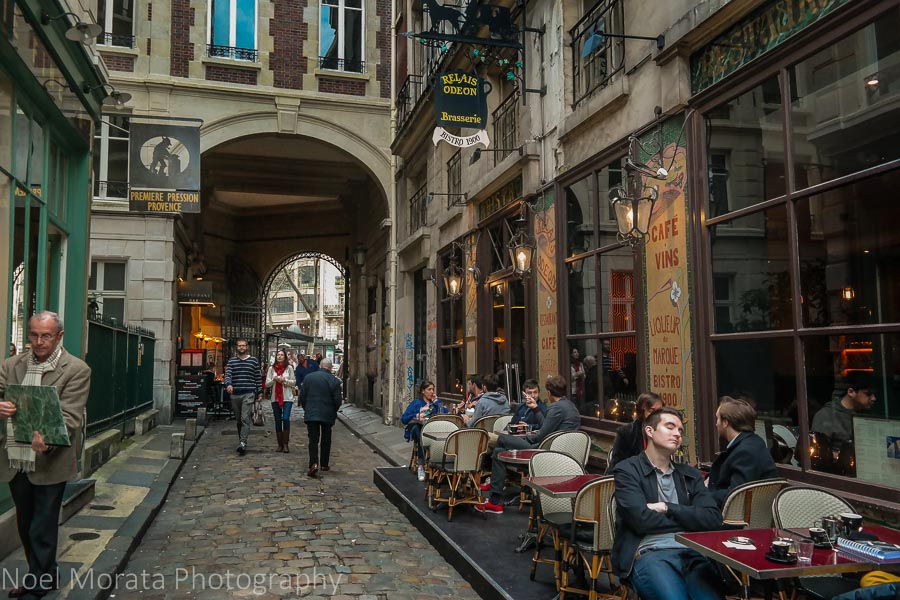 Cobbled streets at St. Germain des Pres