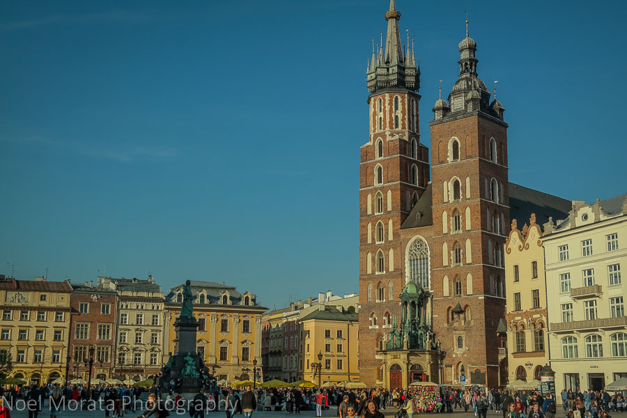 Krakow highlights in one day - Krakow historic central district
