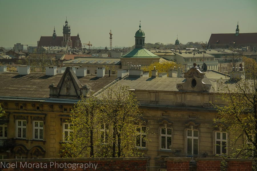 Over looking the Jewish Ghetto in Krakow