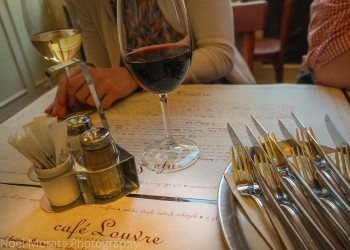 Eating and touring Prague in one day - a meal at Café Louvre