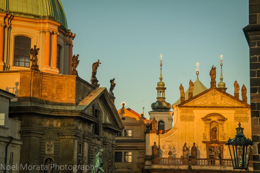 Stunning architecture and monuments everywhere in Prague