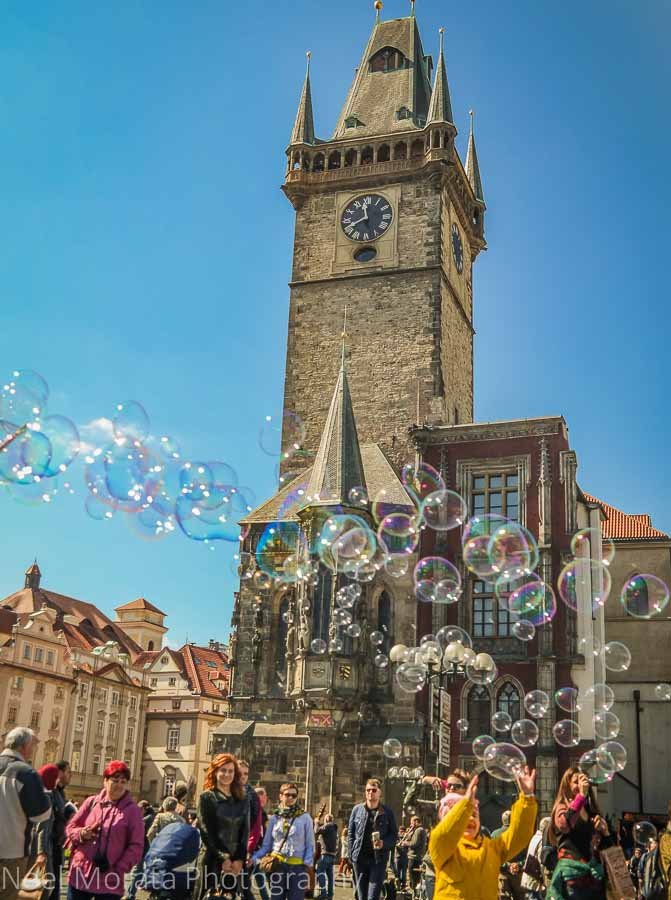 Old Town Hall Tower & Astronomical Clock in Prague