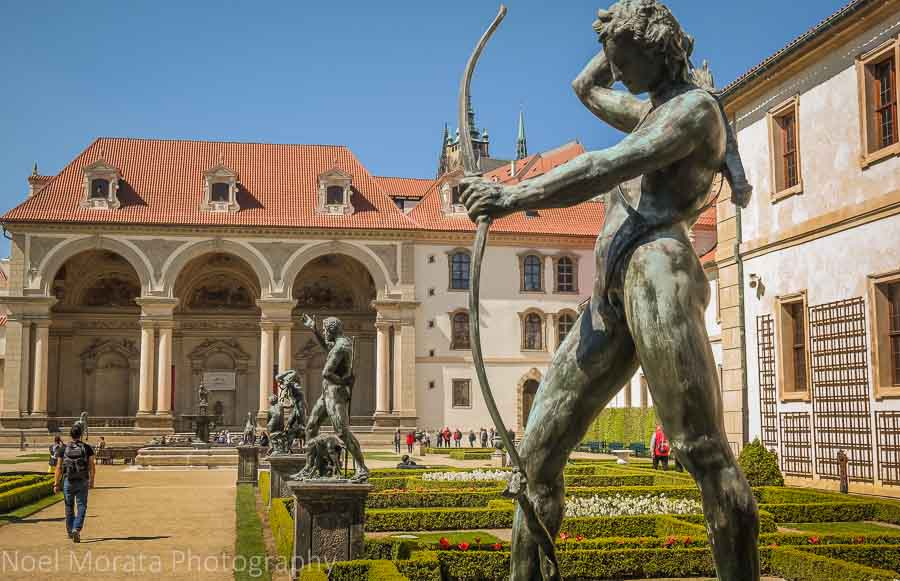 Wallenstein Palace and salla terrena in the 'New town' of Prague