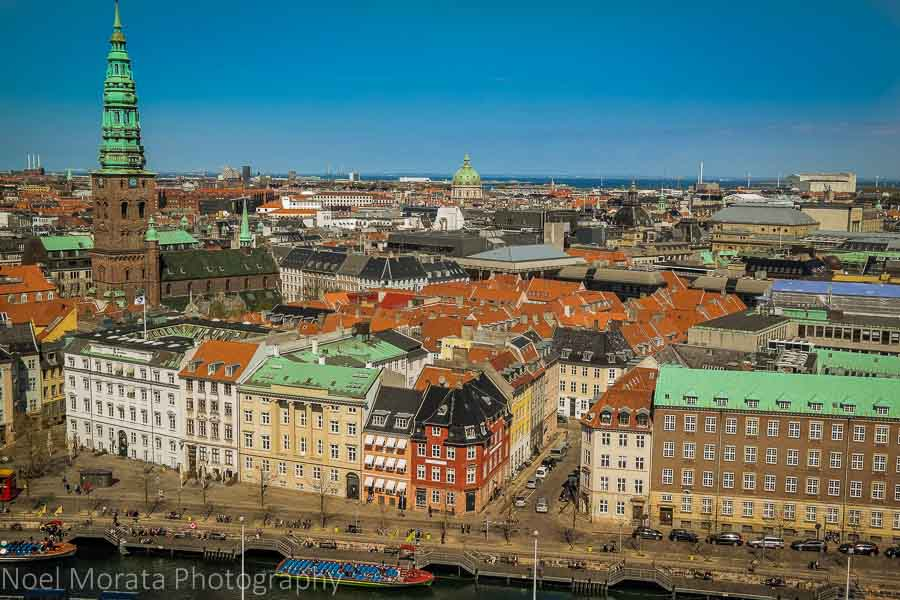 Copenhagen from above - A first impression of Copenhagen, Denmark