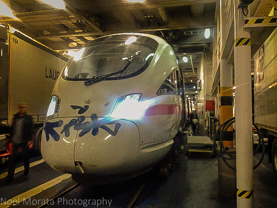 Eurail train and ferry service from Germany to Denmark