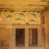A visit to Knossos in Crete and a dolphin mural