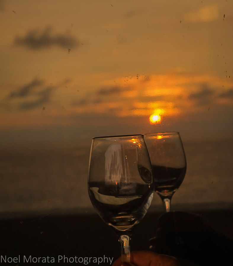 Toasting a Keauhou sunset - Visiting Keauhou on the Big Island