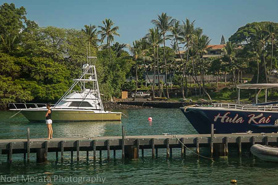 Keauhou harbor - Visiting Keauhou on the Big Island