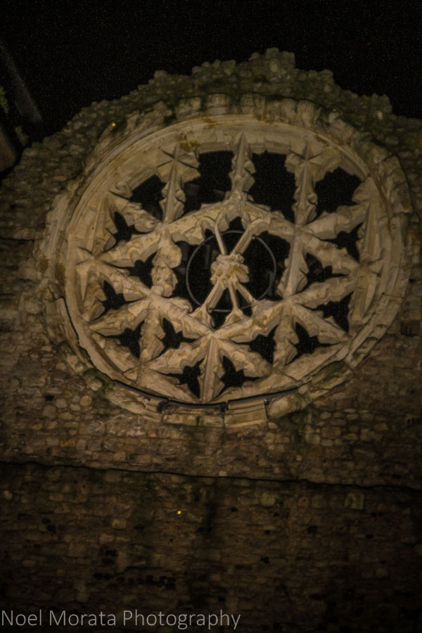 The last remains of the Winchester palace called the Winchester rose